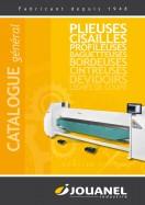 Consultez notre catalogue général machines