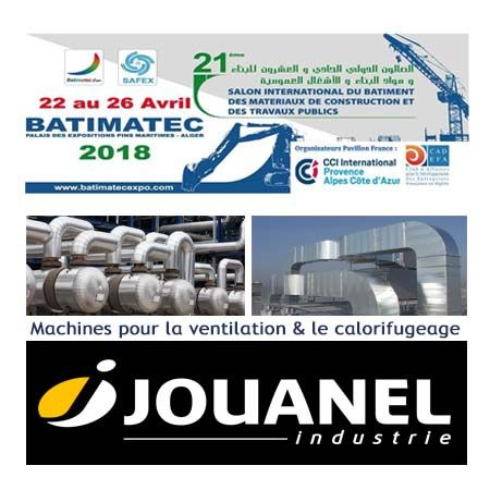 SALON BATIMATEC ALGER 2018