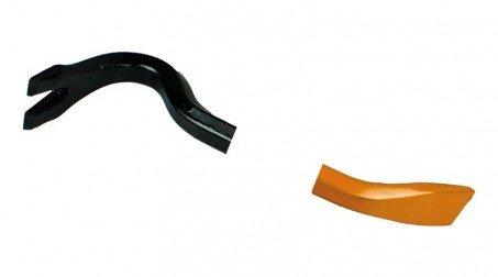 Arrache-clous, 600 mm, type pied de biche, détail