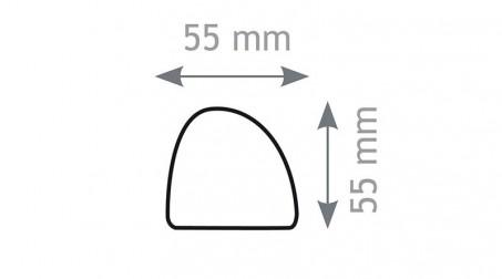 Batte de couvreur, bois - Forme