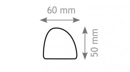 Batte de couvreur, nylon - Forme