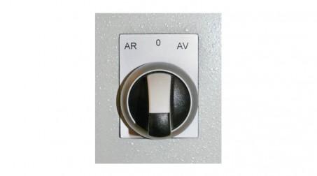 Bordeuse n°5 acier 1,2 mm vitesse variable à la pédale changement de sens par bo - Zoom Bouton Marche AV Marche AR