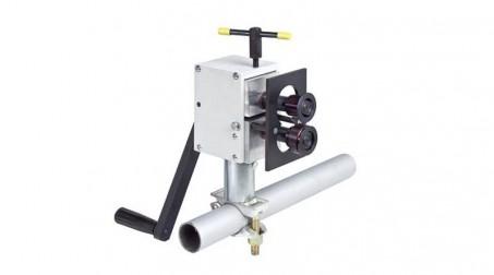 Bordeuse n°3 manuelle acier 0,8 mm - support échafaudage inclus - Support echafaudage
