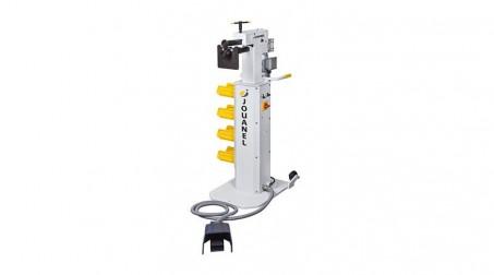 Bordeuse n°5 acier 1,2 mm vitesse variable à la pédale changement de sens par bo