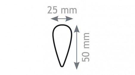 Boursault de couvreur, nylon - Forme