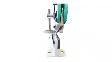 Cisaille à levier de 125x3 mm pour rond et tole - detail lames