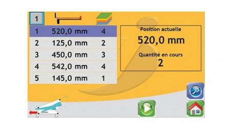 Cisaille électrique lg2050 x2mm avec butée arrière électrique CNC - Vue1