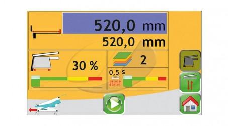 Cisaille électrique lg2050 x2mm avec butée arrière électrique CNC - Vue2