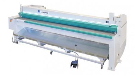 Cisaille électrique lg 2050 x 2 mm avec butée arrière manuelle à crémaillère