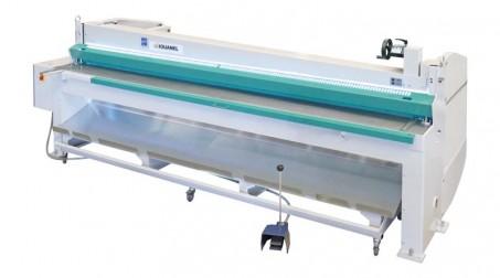 Cisaille électrique lg 2050 x 2 mm avec butée arrière manuelle à courroie