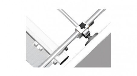 Cisaille électrique lg2050 x2mm avce Butée arrière manuelle à crémaillaire - Detail5