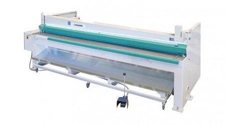 Cisaille électrique lg2050 x2mm avce Butée arrière manuelle à crémaillaire