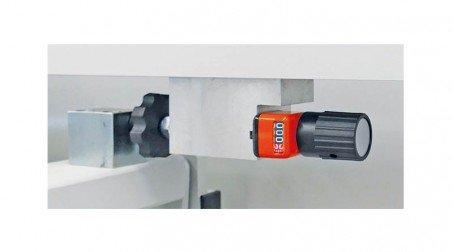 Cisaille électrique lg2050 x2mm avce Butée arrière manuelle à crémaillaire - Detail4