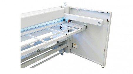 Cisaille électrique lg2050 x2mm avce Butée arrière manuelle commande avant - Detail6