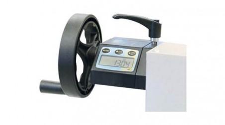 Cisaille électrique lg2050 x2mm avce Butée arrière manuelle commande avant - Detail5