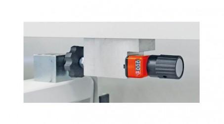 Cisaille électrique lg2050 x2mm avce Butée arrière manuelle commande avant - Detail4