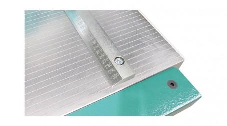 Cisaille guillotine d'atelier 1,05ml - acier 1,5 mm -butée arrière 750mm incluse - Detail1