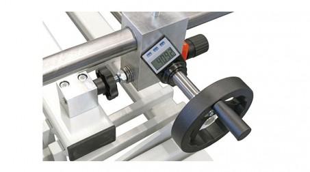 Cisaille guillotine d'atelier 1,05ml - acier 1,5 mm -butée arrière 750mm incluse - Detail3