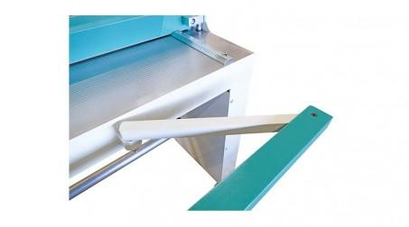 Cisaille guillotine d'atelier 1,05ml - acier 1,5 mm -butée arrière 750mm incluse - Detail2