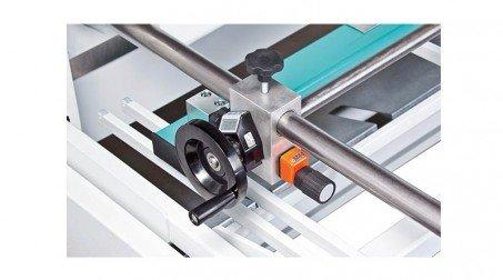 Cisaille guillotine d'atelier 1,05ml - acier 1,5 mm -butée arrière 750mm incluse - Detail5