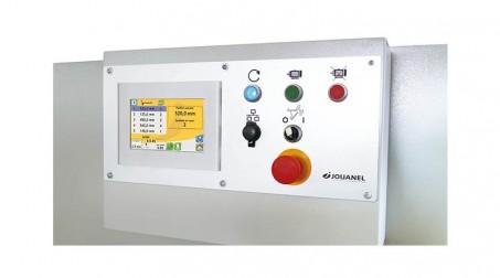 Cisaille hydraulique, 2 M x 4 mm, butée AR électrique 900 mm, contrôle numérique - Vue pupitre