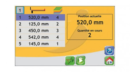 Cisaille hydraulique, 2 M x 4 mm, butée AR électrique 900 mm, contrôle numérique - Vue CN