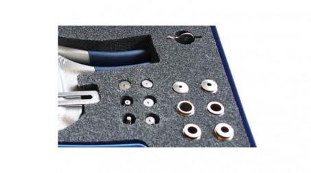 Coffret poinçonneuse avec 7 jeux de poinçons, col de cygne 70 mm, capacité selon - Detail3