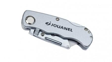 Couteau repliable pour lame trapézoïdale et lame à crochet (avec 6 lames trapézo - Couteau replie