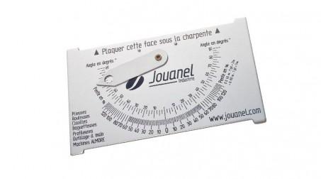 Déclimètre aluminium 90x150 mm, poids 70 g