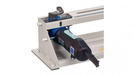 Découpe collerette élec - rayon 45 à 500 mm - acier 1,5 mm, livrée sans pied. - Zoom machine