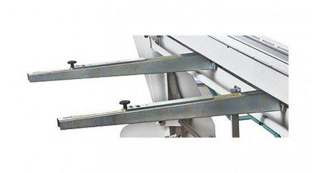 Ensemble de 2 butées arrières à glissière, course 500 mm pour plieuse PCX2040A