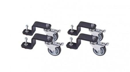 Ensemble de 4 roues PCXR2040 pour PCX 1020, 2040A et 2540A