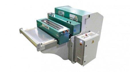 Ligne calo - larg1000 -2nervures décambrage-poinconnage coupe/capacite 1mm acier