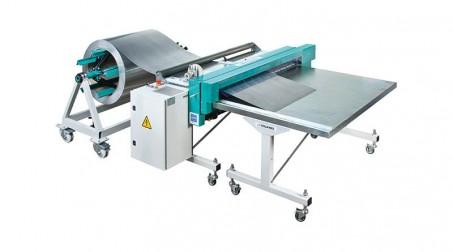 Ligne de coupe 1,25mx0.8mm,contrôle numérique longueurs/quantités,coupe élec. - Avec options