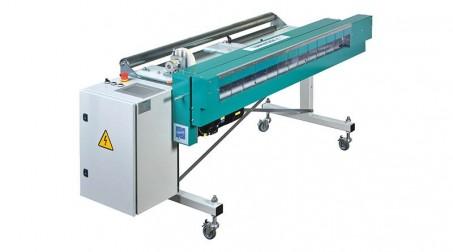 Ligne de coupe 1,25mx0.8mm,contrôle numérique longueurs/quantités,coupe élec.