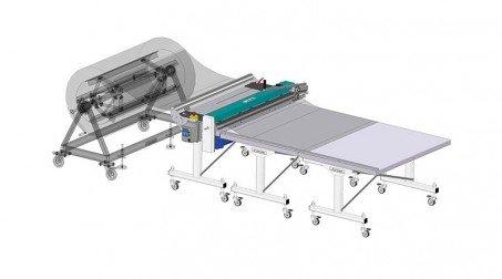 Ligne de coupe 1,25mx0.8mm, déroulage électrique, prog longueur,coupe manuelle - Aves options