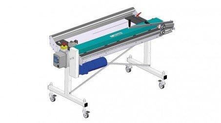Ligne de coupe 1,25mx0.8mm, déroulage électrique, prog longueur,coupe manuelle