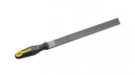 Lime mixte 250 mm écouane et batarde, pour nettoyage des pannes de fer à souder,