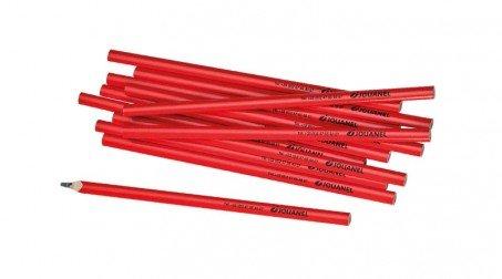 Lot de 10 crayons de charpentier