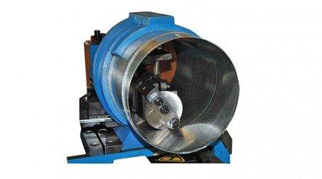 Machine pour gaines spiralées Ø 1250 mm avec contrôle numérique et coupe auto. - Systeme coupe