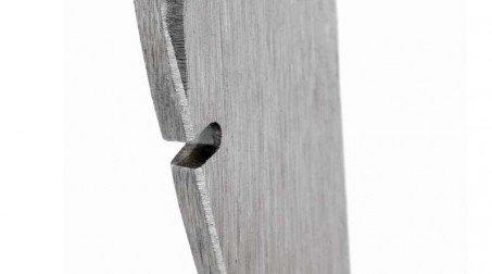 Marteau de couvreur à droite, panne large, manche bois - détail 2