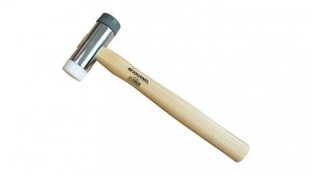Marteau soigneux, embouts Ø 32 mm, manche bois