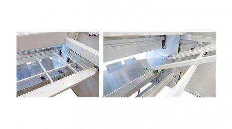 Peigne soutien de tôles arrière pour cisaille CGM1050 - Detail1