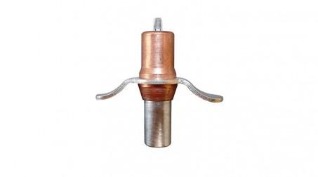 Pince d'assemblage avec ailette diam 3,2 mm