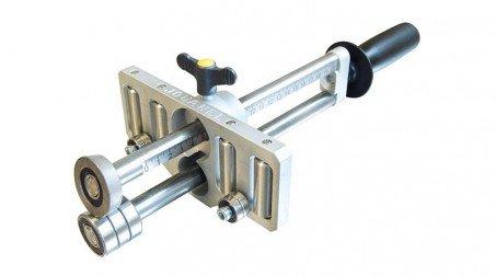 Plieuse à main simple colonne, 4 rouleaux de guidage - 200 mm