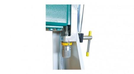 Plieuse d'atelier manuelle 2,04 ml avec pédale et leviers de desserrage - acier 1,2 mm (livrée avec règle de 15 mm) - Detail6