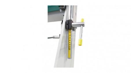 Plieuse d'atelier manuelle 2,04 ml - zinc 1,2 mm et acier 1 mm avec tablier ergonomique et pédale - Detail2