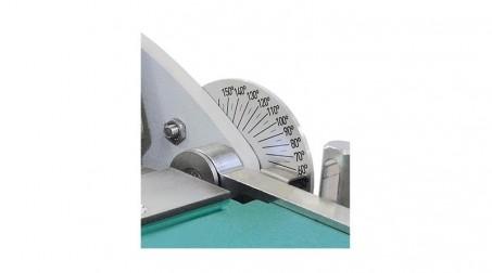 Plieuse d'atelier manuelle 2,04 ml - zinc 1,2 mm et acier 1 mm avec tablier ergonomique et pédale - Detail1