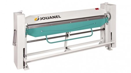Plieuse d'atelier manuelle à desserrage automatique  2,04 ml (livrée avec règle de tablier de 15 mm)