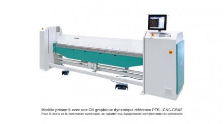 Plieuse universelle électrique PTS avec CN graphique dynamique